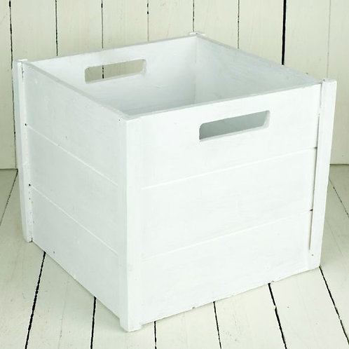'Bon' - White Wooden Box