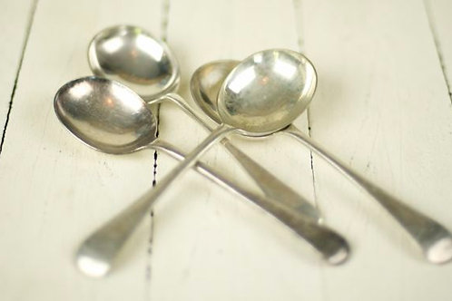 'Silver Vintage' Polished Silver Soup Spoon