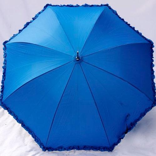'Miss Blue Frill' Blue Frilled Parasol