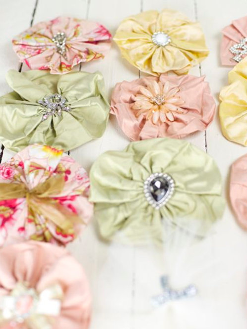 'Fleur' Napkin Flowers