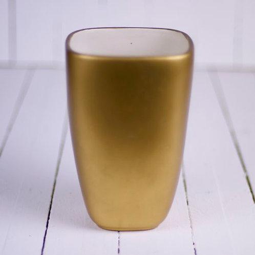 'G. Locks' - Large Gold Vases