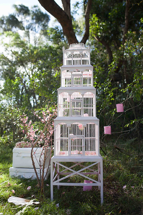 'Tweety' Large White Bird Cage