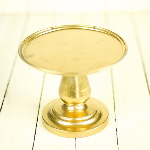'Cleo' Gold Cake Stand