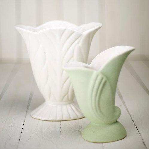 'Mabel' - Medium Footed Vintage Vase