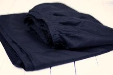 'Skirting The Subject' - Black Table Skirt