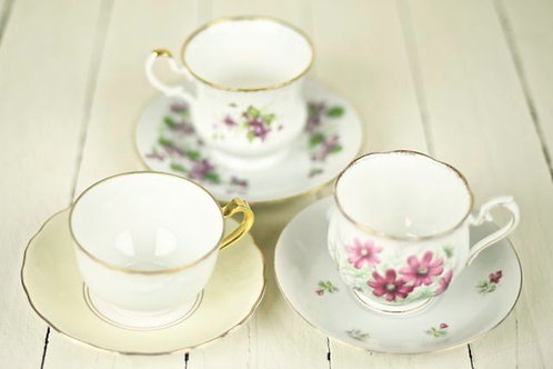 'Bell' Vintage Cup & Saucer Doubles