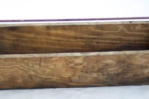 'Rocco' Vintage Wooden Toolbox