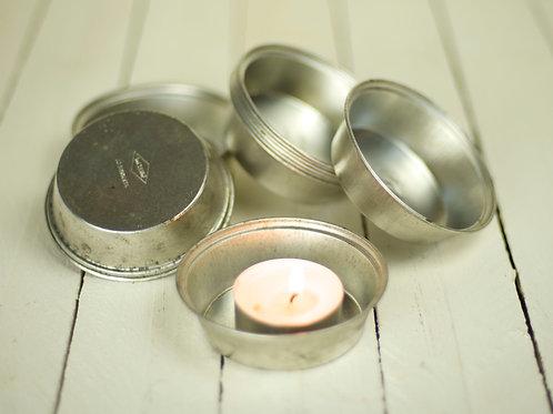 'Rin Tin'  Eclectic Tin Tea Light Holders