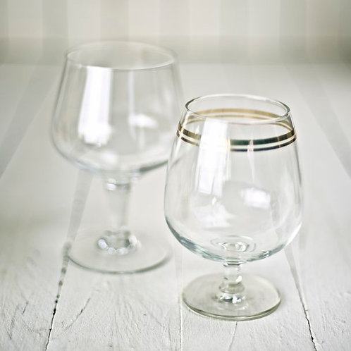 'Brandi' - Vintage Balloon Glass Vases