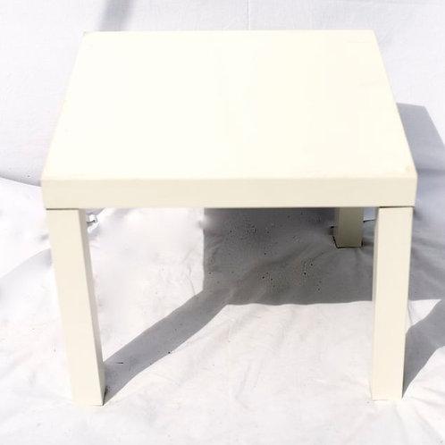 'Cubisto One' - White Square Coffee Table