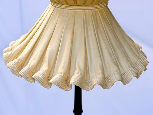 'Miss Fanny' Gathered Standard Lamp