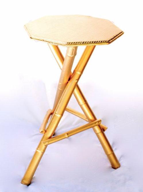 'Aurum' - Gold Side Table