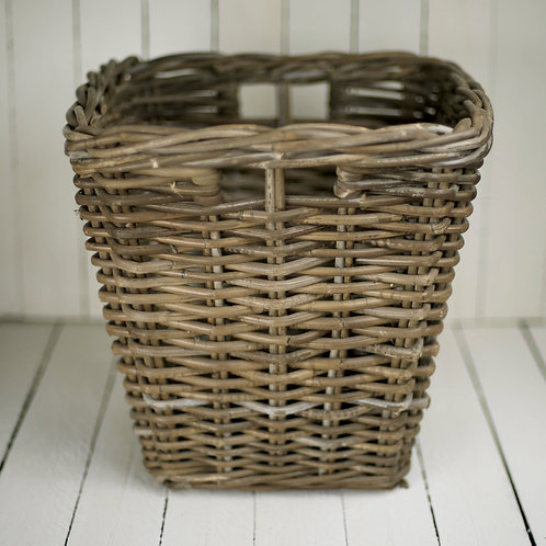 'Tisket' Natural Dark Cane Basket