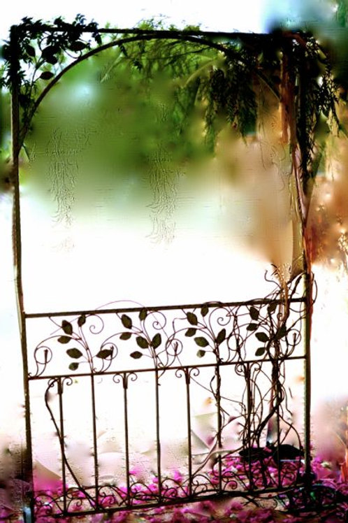 'Secret Garden' - Rustic Vintage Gate Arch