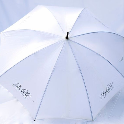 'Miss Grand' White Golf Umbrellas