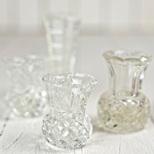 'Petit' - Small Cut Glass & Crystal Vases