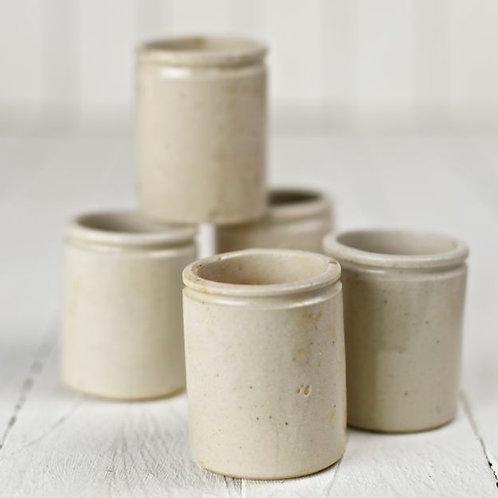 'Provence' - Small Rustic Ceramic Jars