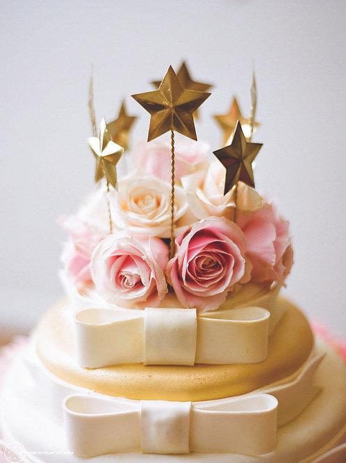 'Star' Star Cake Topper