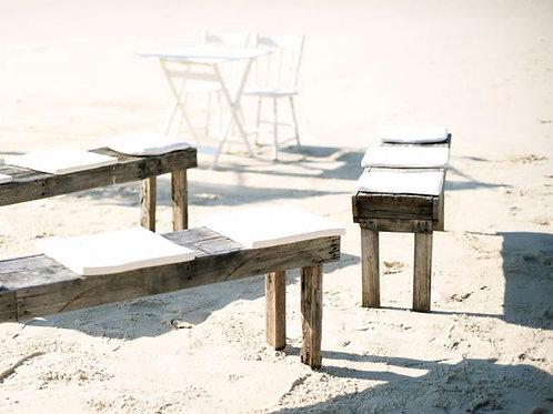 'Benjie' - Rustic Wooden Bench Seat
