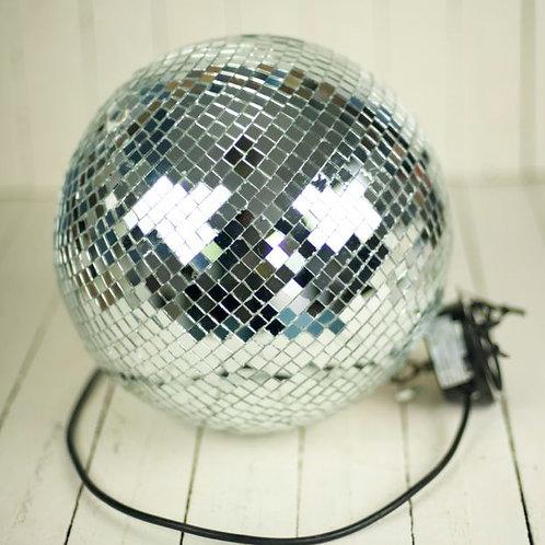 'Disco' Medium Mirror Ball With Motor