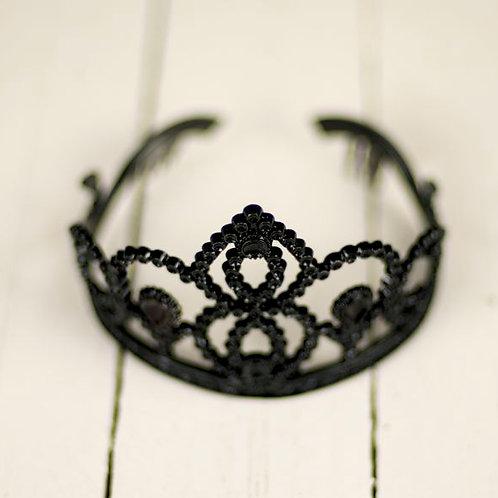 'Dark Princess' - Black Tiara