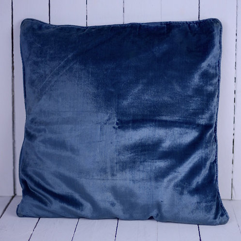 'Crush' - Blue Velvet Cushion