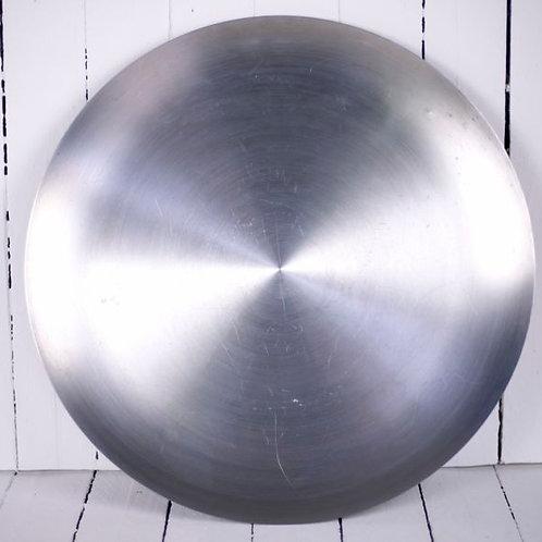 'U.F.O' Large Polished Steel Tray