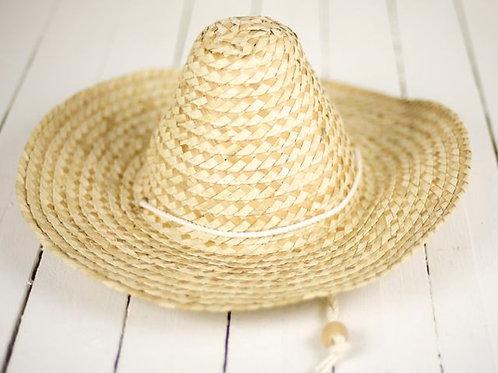 'Tijuana Junior' - Small Straw Sombrero
