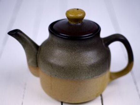 'Tea Swoon' - Large Stoneware Teapot