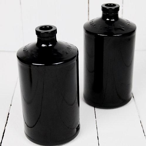 Black bottle vase hire Brisbane wedding & event floristry