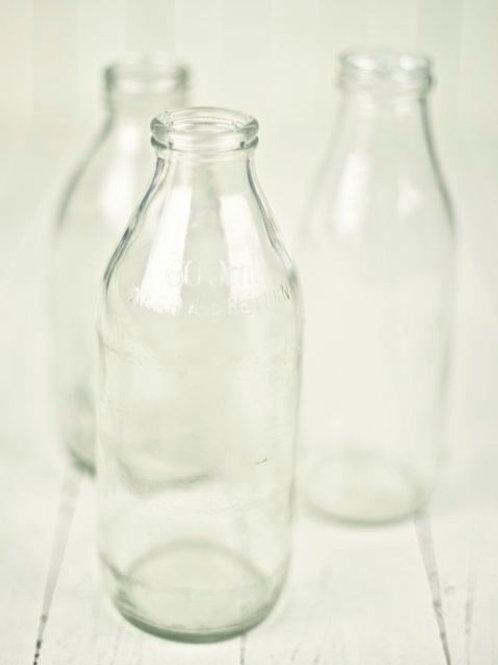'Got Milk?' - Vintage Milk Bottles