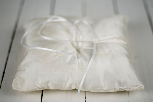 'Ring A Rosy Ribbon' - Ribboned Ring Cushion