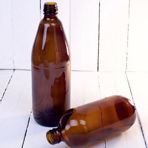 'The Brun Bottle' - Large Brown Bottle Vase