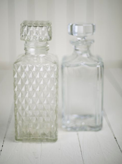 'Bessie' Crystal & Cut Glass Decanters