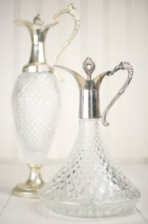 'Christy' Crystal Decanters
