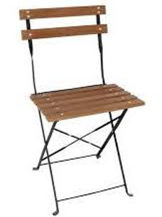 'Woodstock' - Wooden Bistro Chair