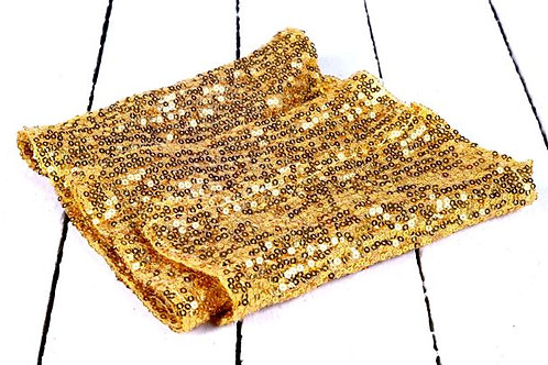 'Gold E. Locks' - Gold Sequin Runner