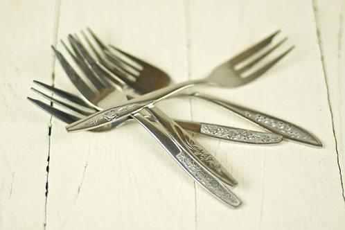 'Grandma's Cutlery' Cake Forks