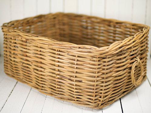 'Abel' Large Natural Cane Basket
