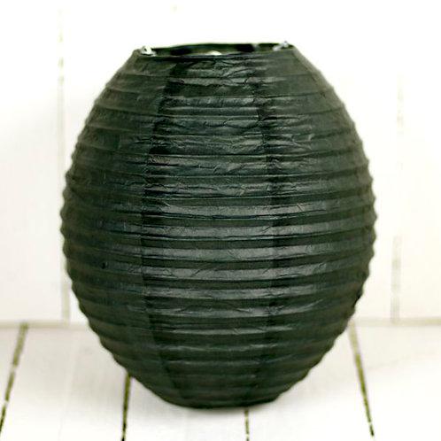 'Rice Black Egg' - Black Egg Paper Lantern 8 Inch
