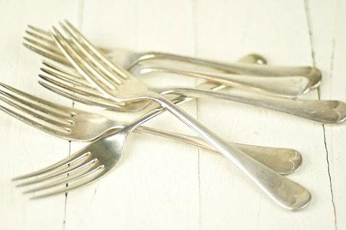 'Silver Vintage' Polished Silver Dinner Forks