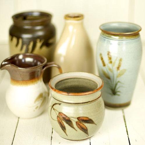 'Earthernly' - Stone & Earthernware Medium Vases