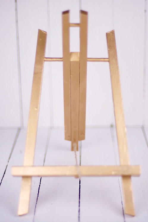 'Stand By Me' - Small Gold Easel