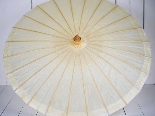 'Miss Buttercream' Small Wax Paper Parasol