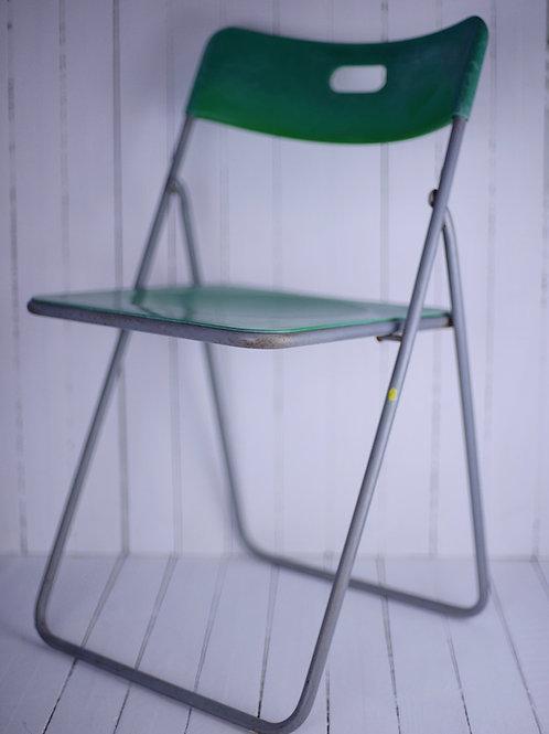 'Bean' - Green Vintage Chair
