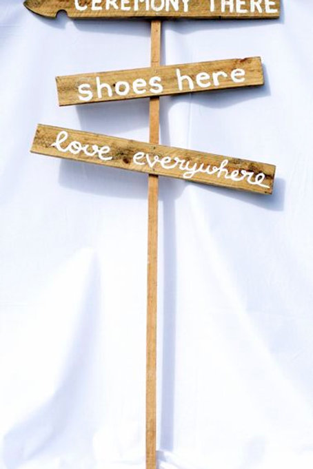 'Love Everywhere' - Rustic Sign