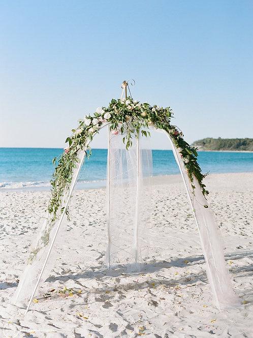 'Kariana' - White Ceremony Tri-Arch
