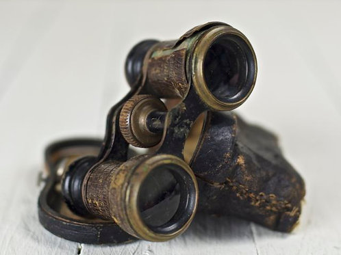 'Biggles' Antique Binoculors