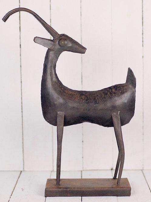 'Jabari' - African Impala Bronze Statue