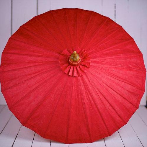 'Miss Saigon' Red Paper Parasol